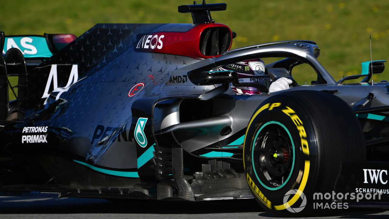 Lewis Hamilton at Barcelona Feb 2020 testing
