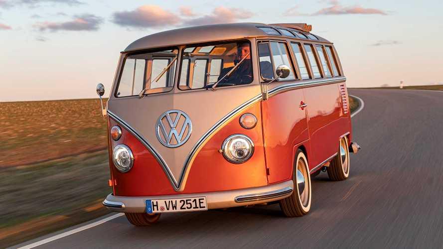 Volkswagen e-Bulli: una T1 clásica convertida en un vehículo eléctrico