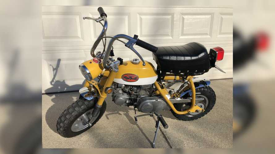 We Want This 1970 Honda Z50A Mini Trail A Lot And So Do You
