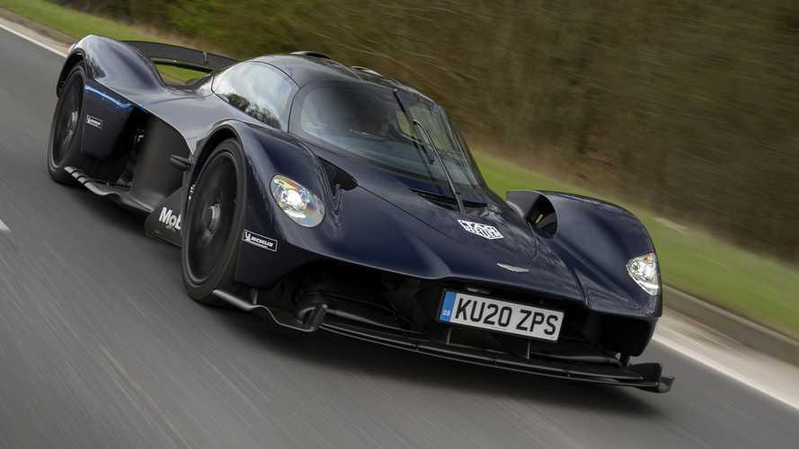 Test esnasında yakalanan Aston Martin Valkyrie'ye yakından bakın!