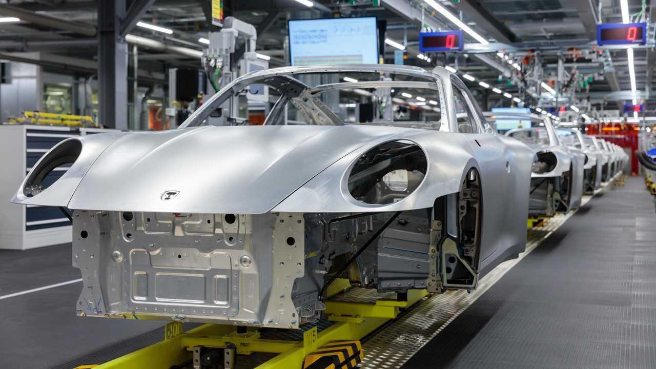 Porsche production Zuffenhausen