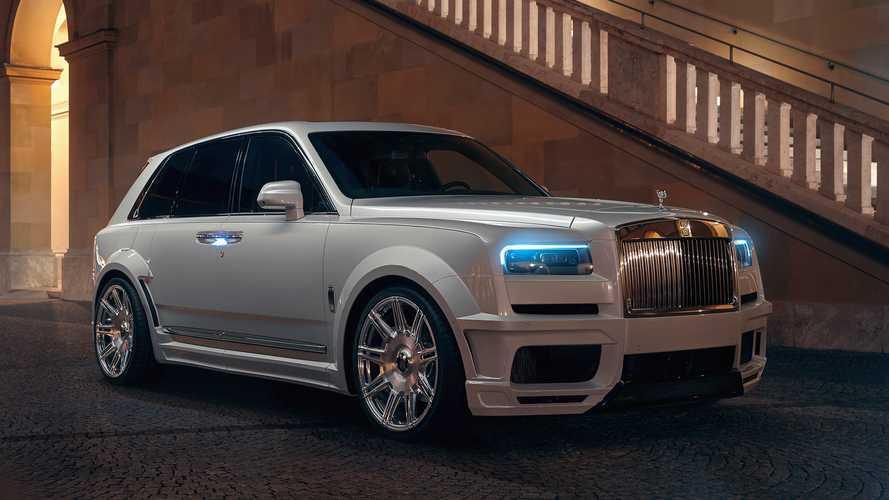 Schon wieder wird ein Rolls-Royce Cullinan getunt!