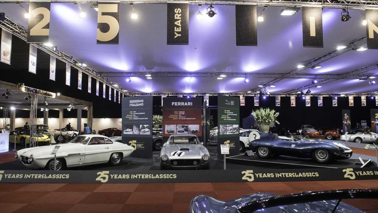 25th birthday celebrations at Interclassics Maastricht