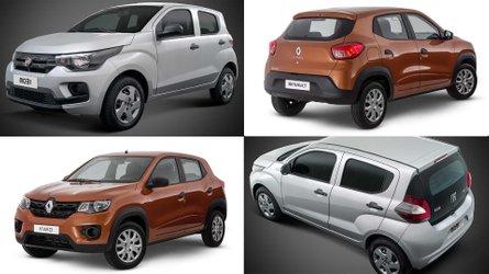 Kwid e Mobi: O que vem (e o que não) nos carros mais baratos do Brasil?