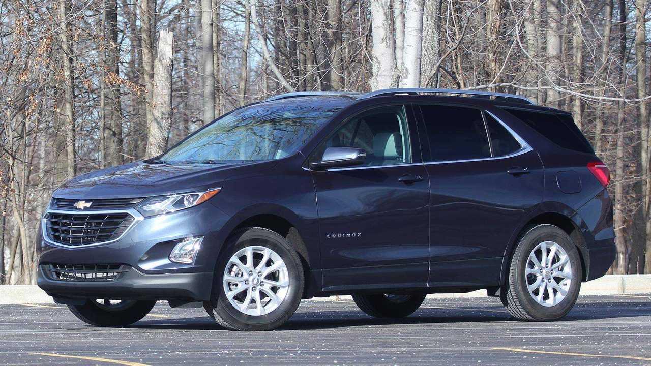 7. Chevrolet Equinox: 346,048 Units