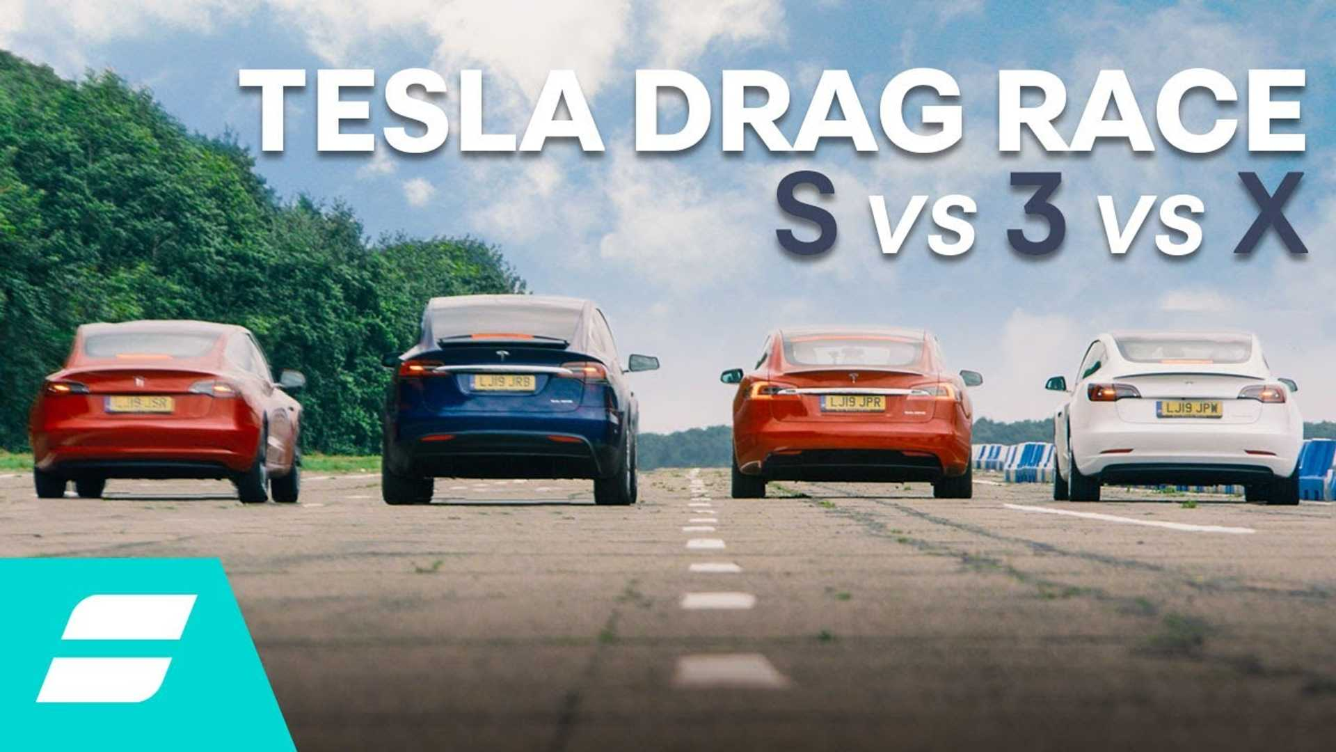 How do Tesla Model 3, S, X really compare in terms of performance?