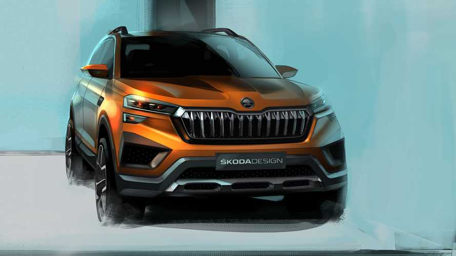 Skoda Vision IN Sketches Signal Yet Another Crossover Is Coming