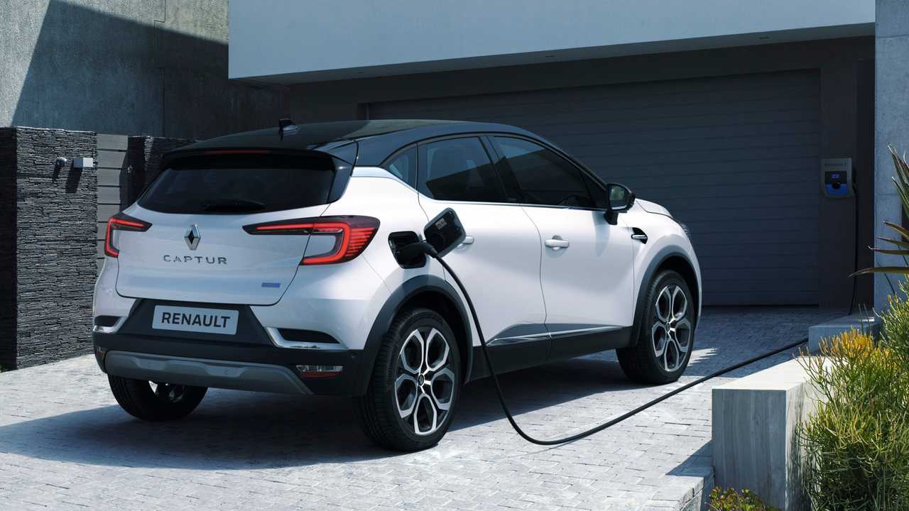 Renault Captur E-Tech Plug-in (ab Mitte 2020)
