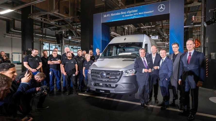 Mercedes-Benz Starts eSprinter Production At The Dusseldorf Plant