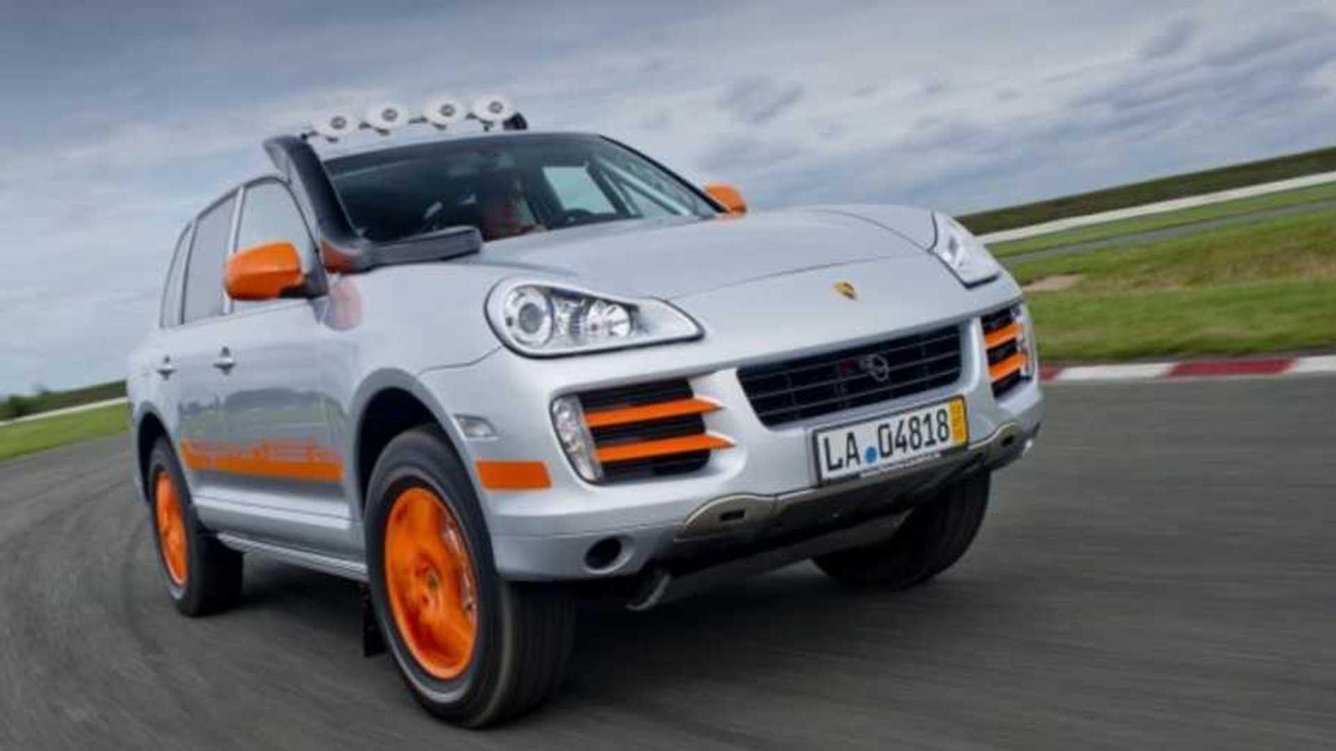 "[""Ask Santa For This Rare Race-Spec Porsche Cayenne S Transsyberia""]"