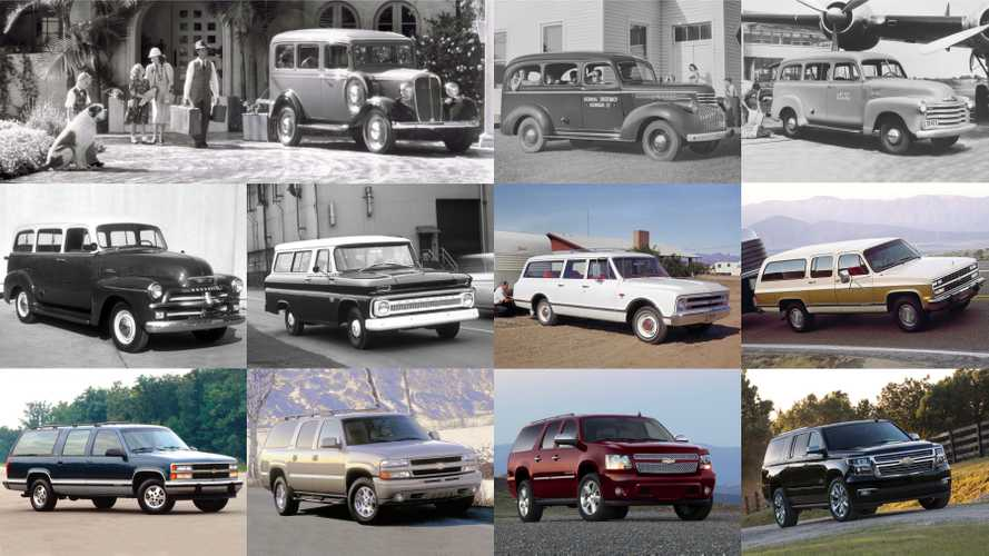 A Look Back At 85 Years Of The Chevrolet Suburban