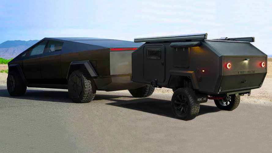 See Why This Rugged Camper Is A Perfect Match For Tesla Cybertruck