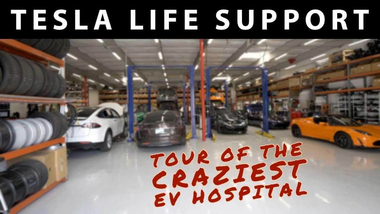 gruber motor company tesla life support