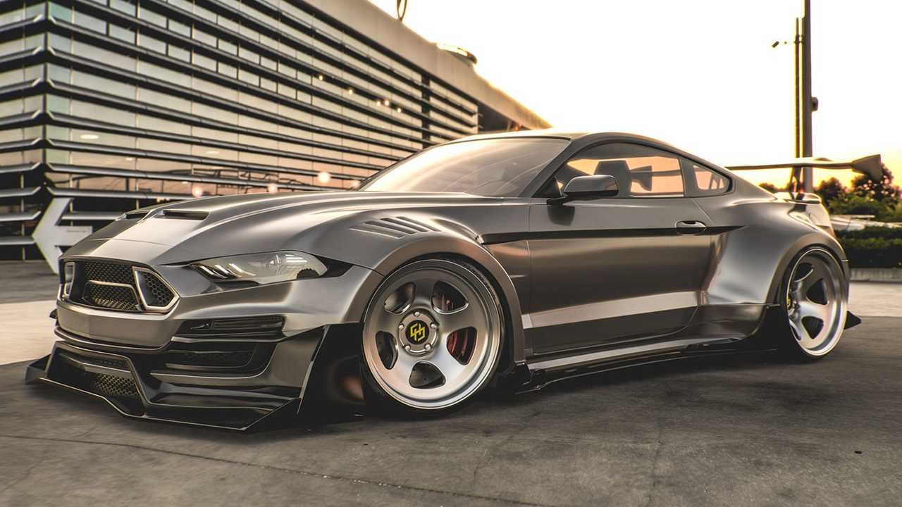 Ford Mustang Shelby Super Snake Rendered With Wild Body Kit