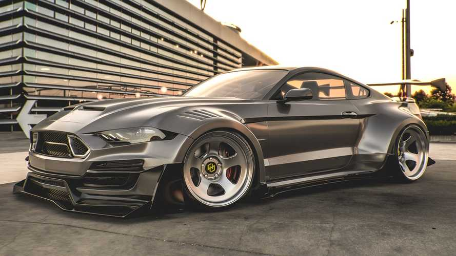 Ford Mustang Shelby Super Snake Rendering