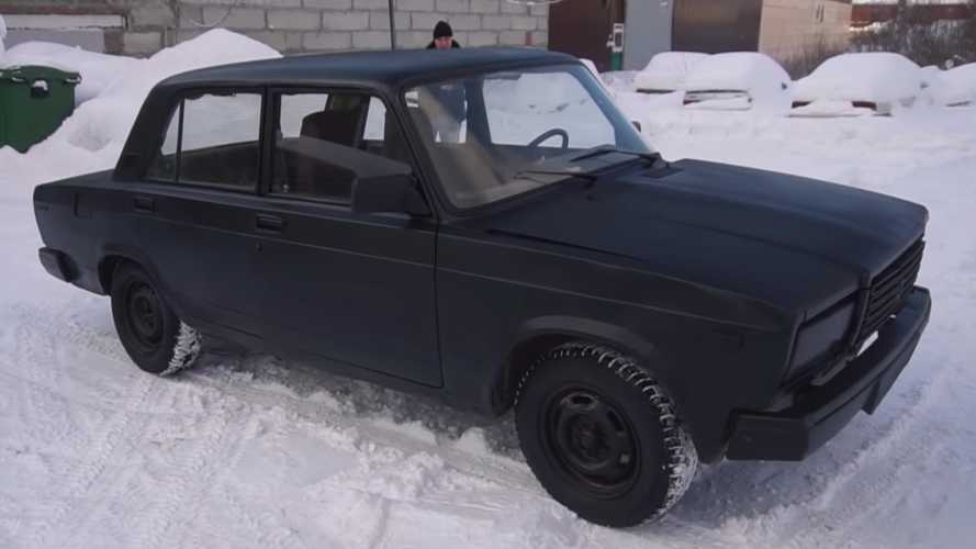 Lada Homemade Vantablack Creation
