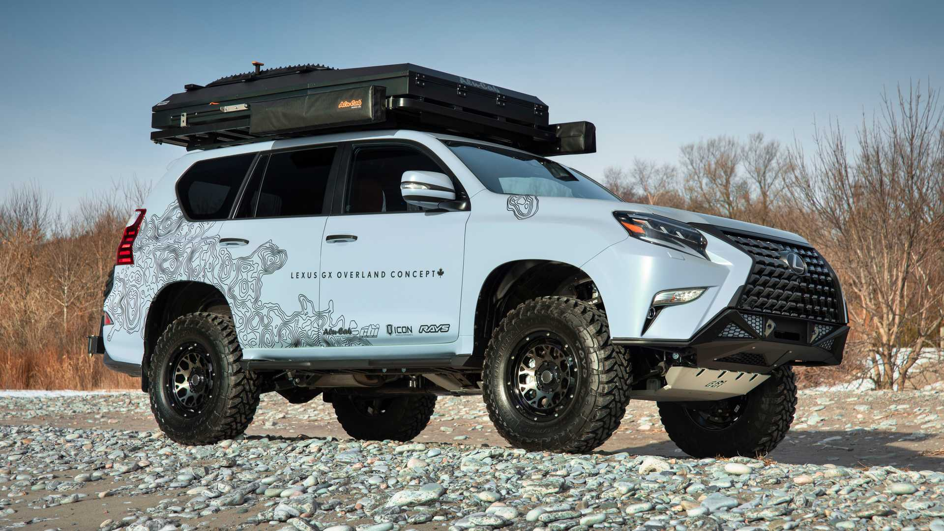 Lexus Gx Overland Concept Debuts With Rooftop Tent