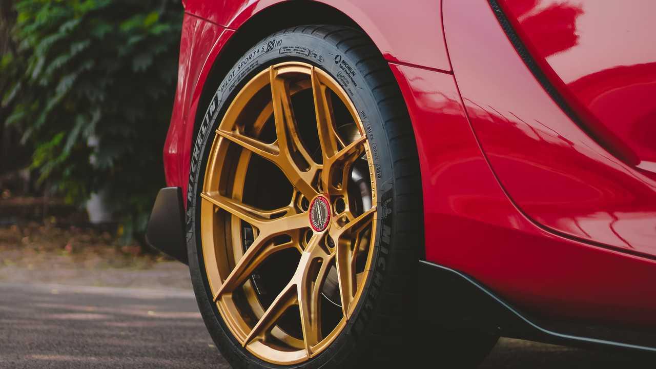 Toyota Supra Vossen Wheels