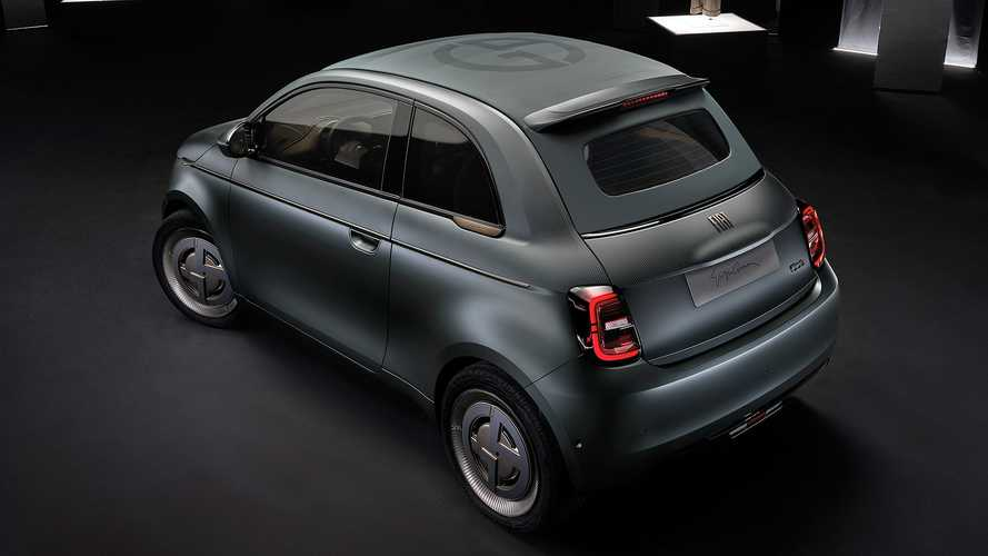 Nuova Fiat 500 Giorgio Armani
