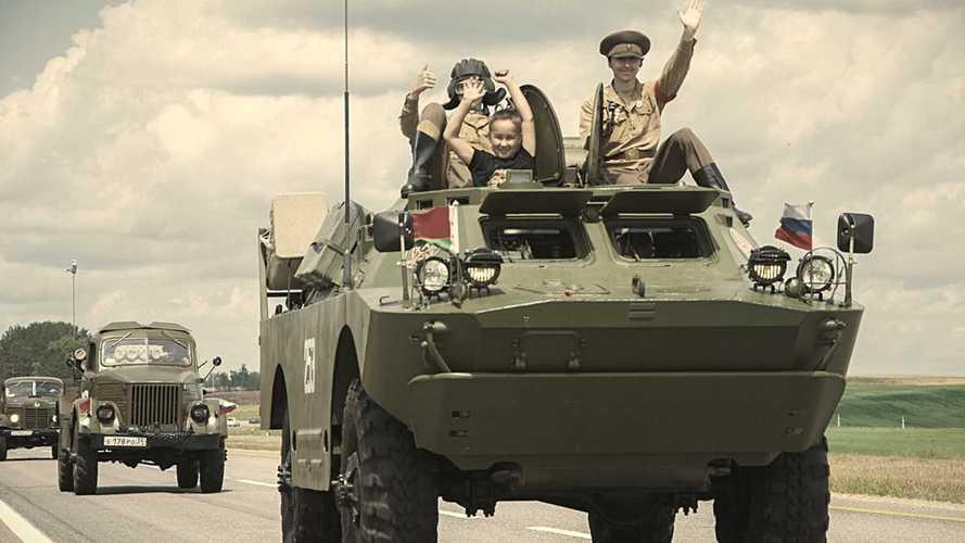 Советские бронемашины проедут по России в честь 75-летия Победы