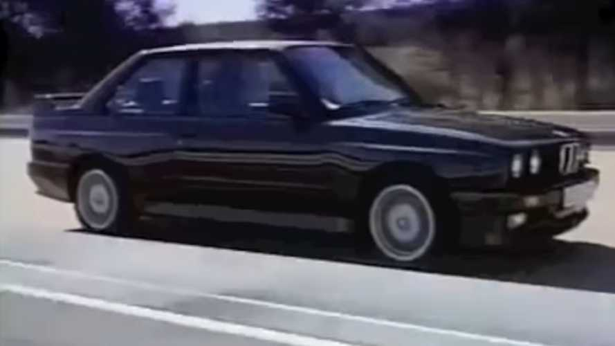 Watch A Retro BMW E30 Promo Video
