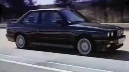 Watch a retro bmw e30 promo video