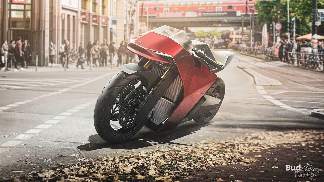 1 - Tesla Motorcycle