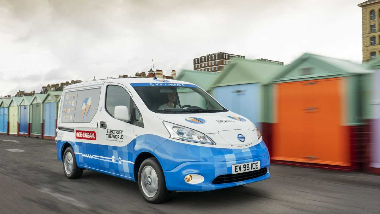 Nissan  e-NV200 Electric Ice Cream Van