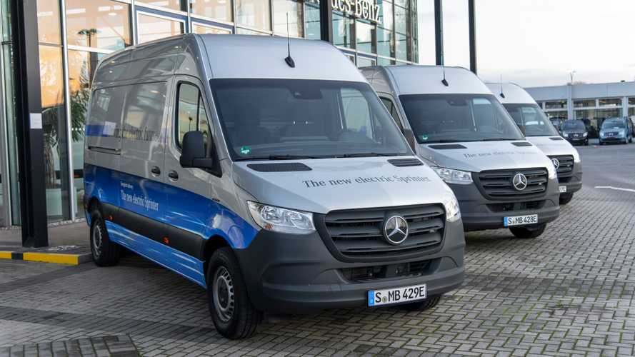 Mercedes-Benz eSprinter To Be Introduced In The U.S... In 3 Years