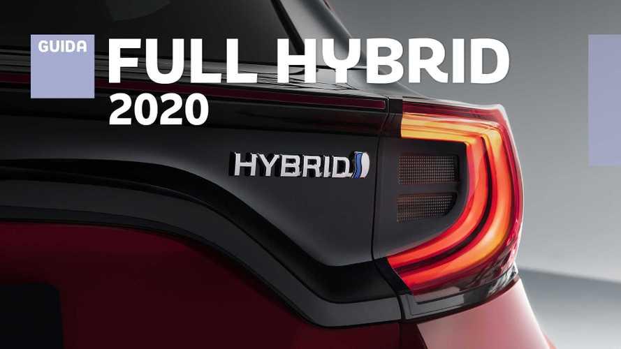 Auto ibride, tutte le novità full hybrid del 2020