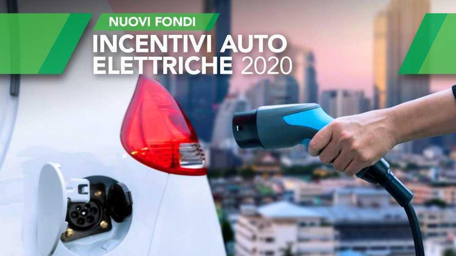Incentivi auto elettriche 2020, arrivano i nuovi fondi