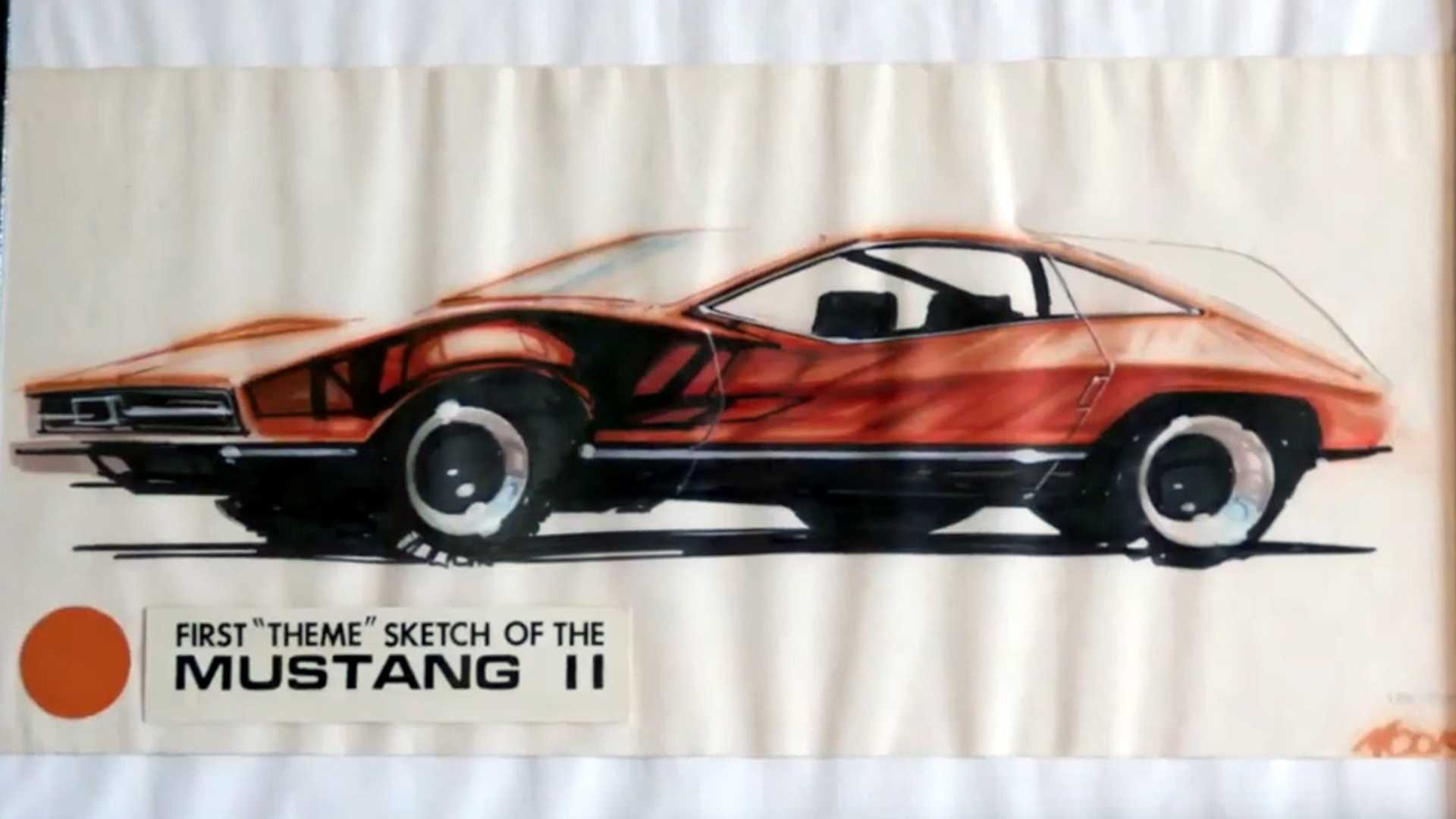 """[""""This Is What The Ford Mustang II Could Have Looked Like""""]"""