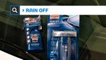 manutenzione auto guidare sicurezza con la pioggia