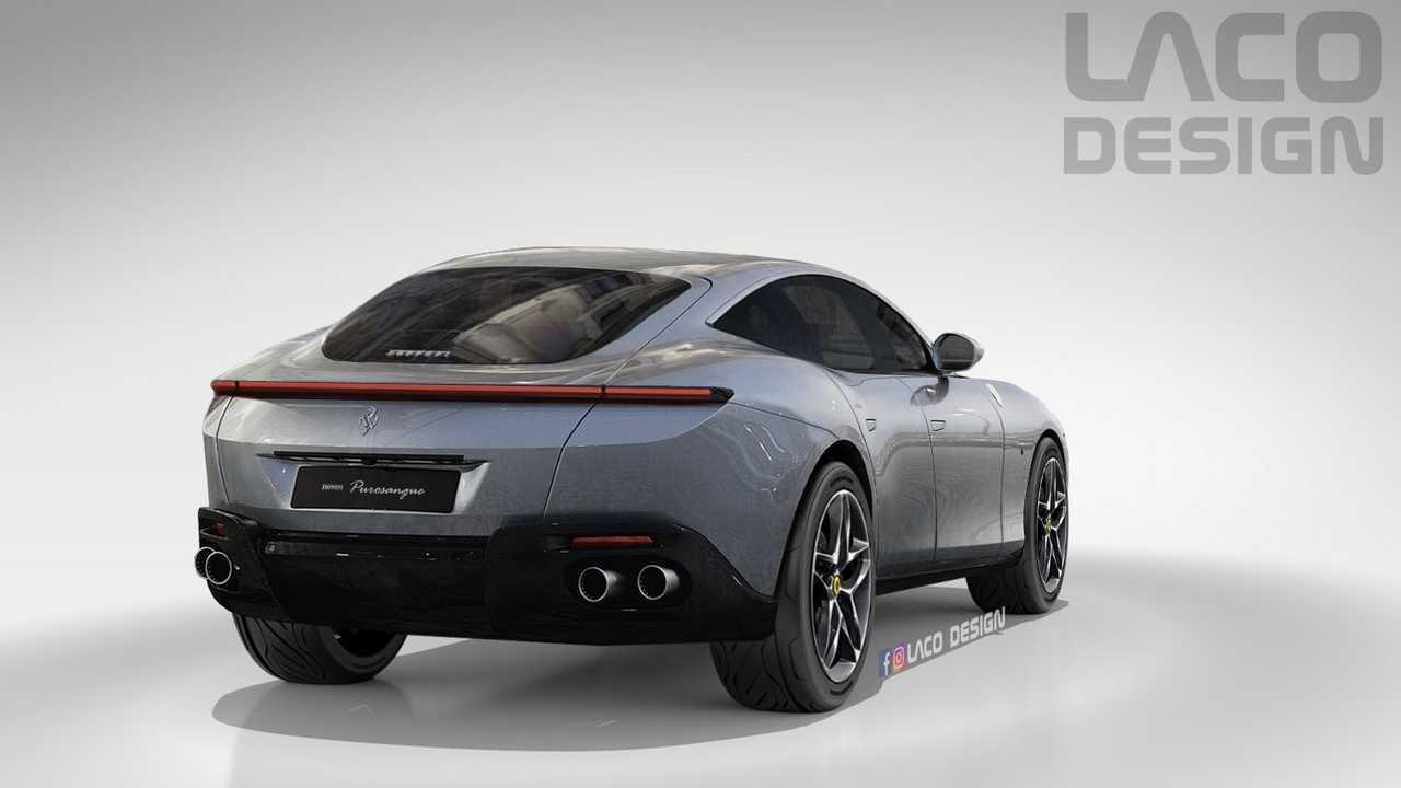 Ferrari Adianta Que Purosangue Sera Suv Com Design Inspirado No Roma