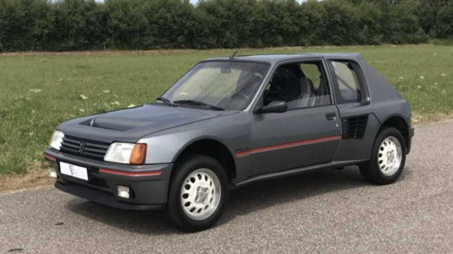 Este Peugeot 205 T16 estuvo a la venta... ¡por 200.000 euros!