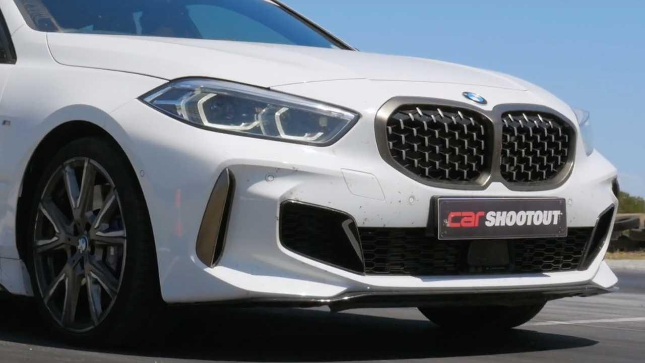 BMW M135i, Mercedes-AMG A35 Drag Race For Hot Hatch Supremacy