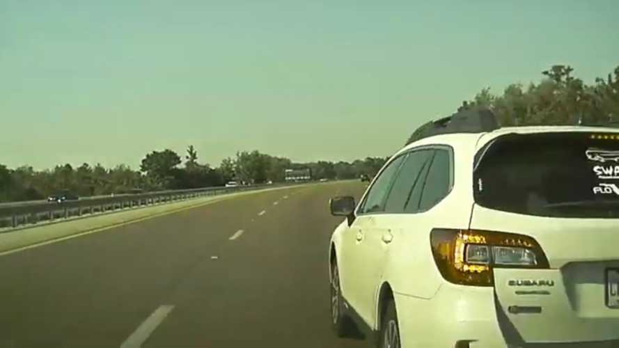 Left Lane Use: This TeslaCam Road Rage Video In Florida Will Bug You