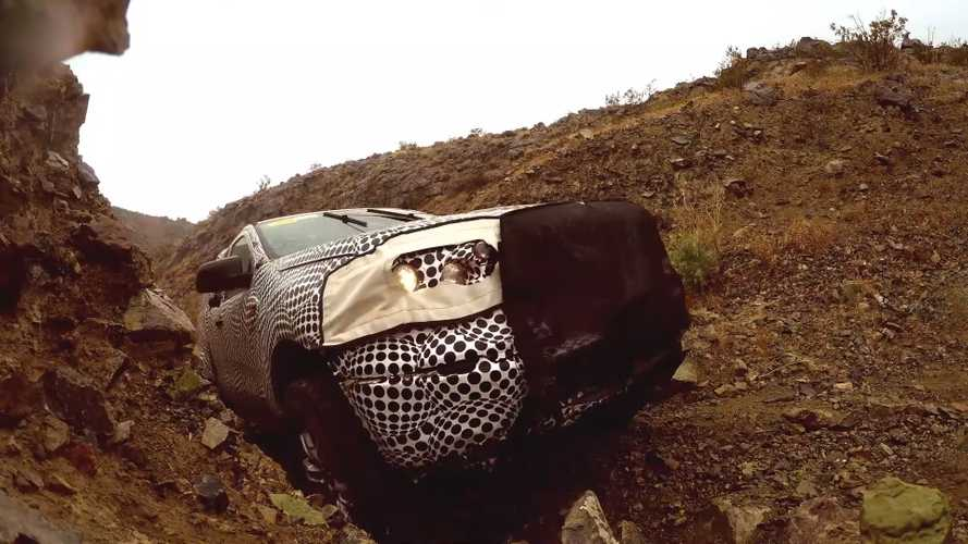 Скриншоты видеотизера Ford Bronco