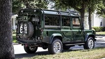Custom Land Rover Defender with LS3 engine