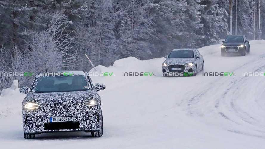 Audi Q4 e-tron spyshots