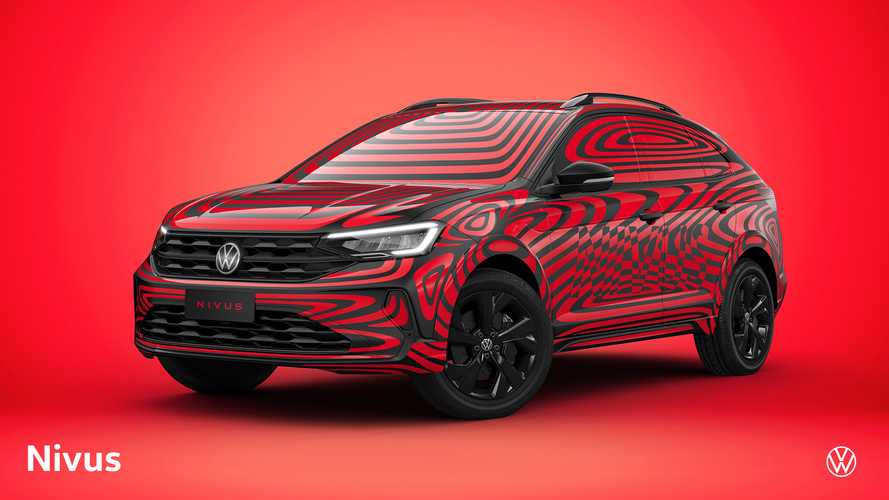 Camo'd VW Nivus crossover 'coupe' revealed for Brazil