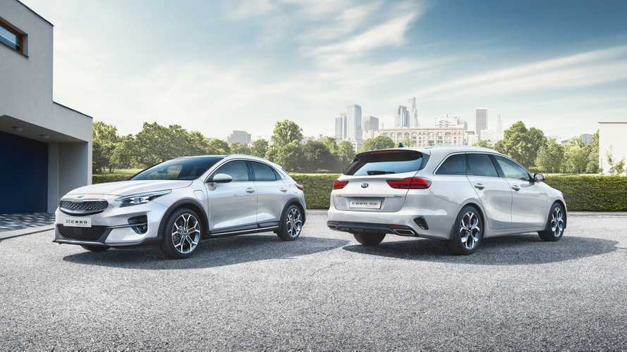 Kia Ceed Sportswagon and XCeed plug-in hybrids