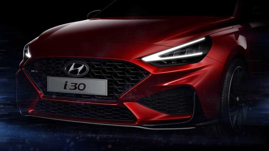 Hyundai i30 antecipa facelift em teaser, mas seguirá longe do Brasil