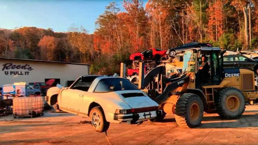 Man Rescues 1974 Porsche 911 Targa From Junkyard