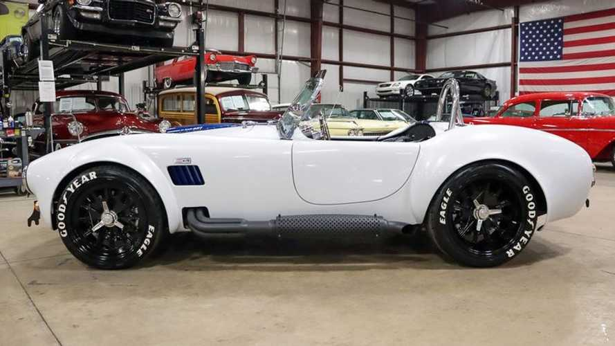 Fire Up This 1965 Shelby Cobra Replica