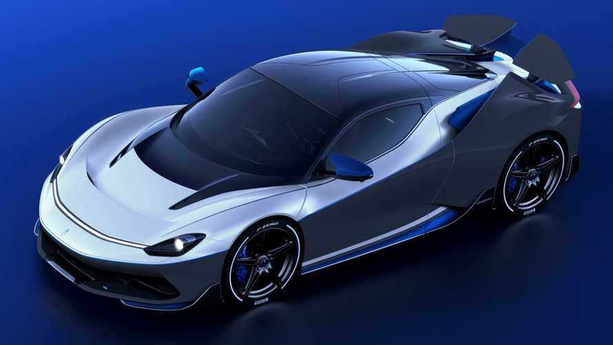 Special Pininfarina Battista Anniversario arrives wearing wilder wing