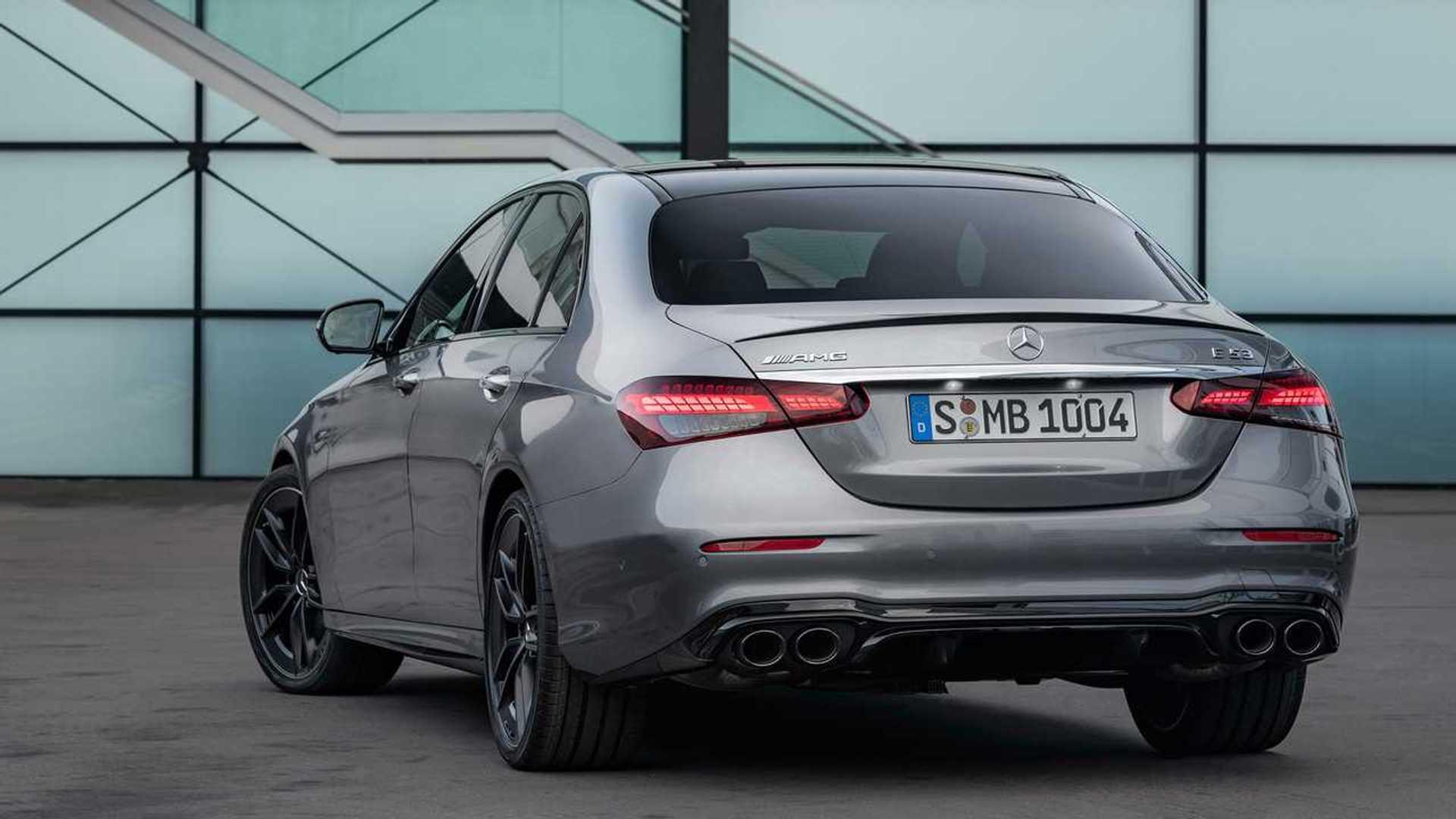 Mercedes-AMG E 53 (2020): Neue Optik und sportlichere ...