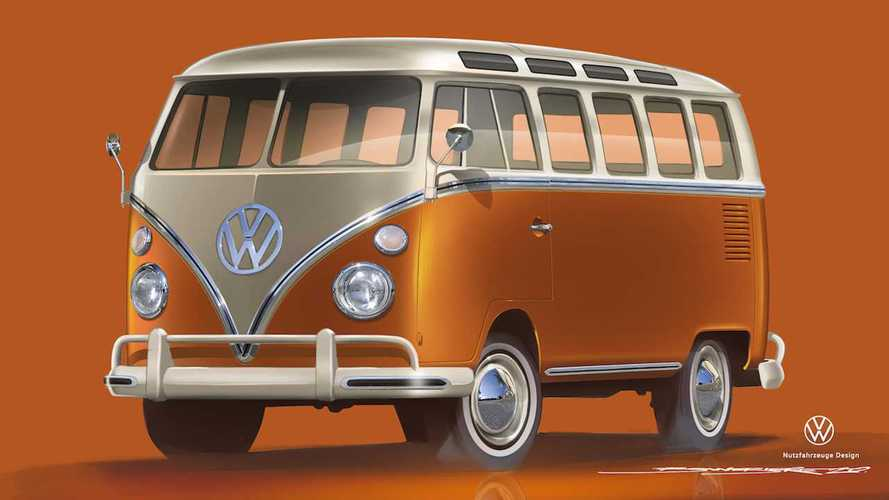 Volkswagen aggiorna e trasforma in elettrico anche il Bulli del '66