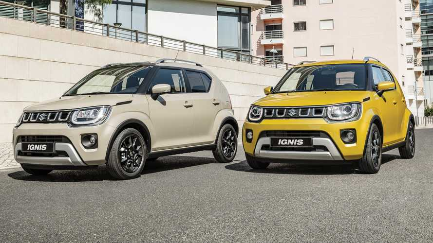 Suzuki Ignis Gets A Minor Facelift, Remains Adorable