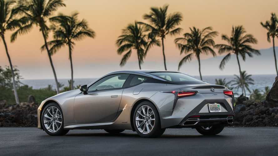 Order books open for £80,100 updated Lexus LC Coupe